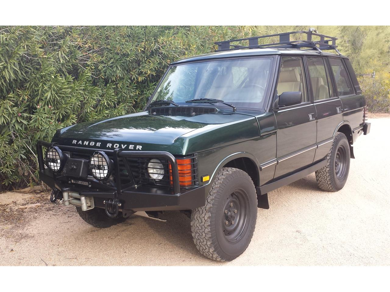 Large Picture of 1995 Land Rover Range Rover located in Arizona Offered by Bring A Trailer - Q3SY