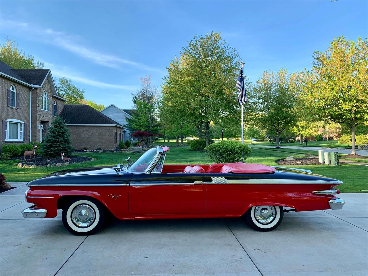 Large Picture of Classic 1961 Fury located in North Royalton Ohio Offered by BlueLine Classics - Q3Z1
