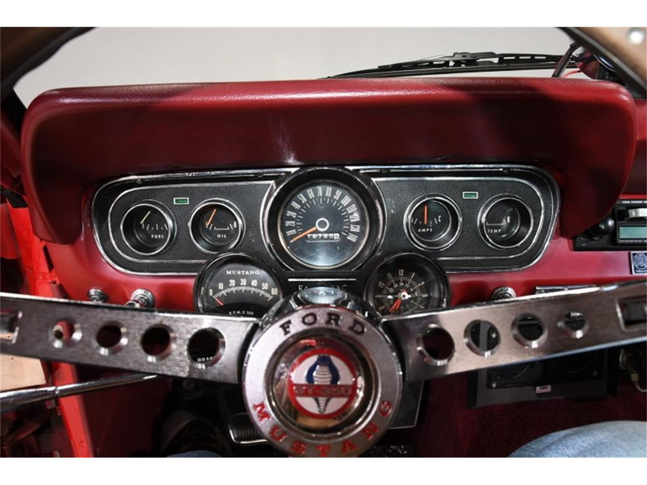Large Picture of Classic '66 Ford Mustang - $37,998.00 Offered by Volo Auto Museum - Q40M