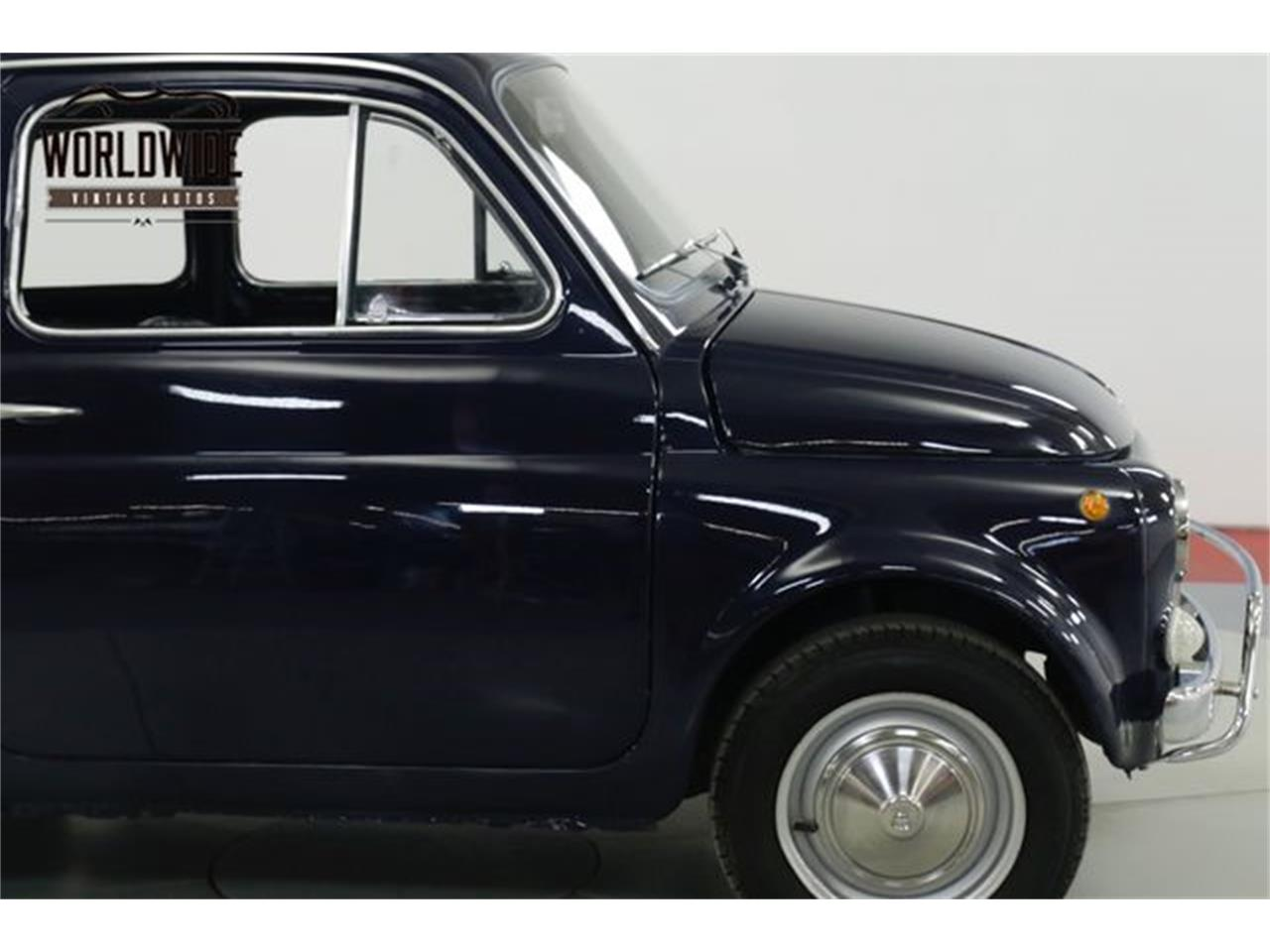 Large Picture of 1971 Fiat 500L located in Colorado Offered by Worldwide Vintage Autos - Q40U