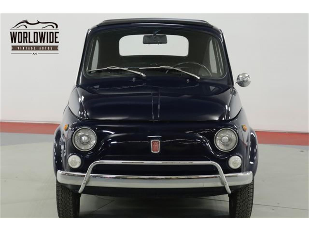 Large Picture of Classic '71 Fiat 500L located in Colorado Offered by Worldwide Vintage Autos - Q40U