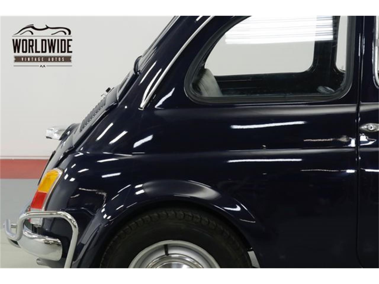 Large Picture of Classic 1971 Fiat 500L located in Colorado - $15,900.00 Offered by Worldwide Vintage Autos - Q40U