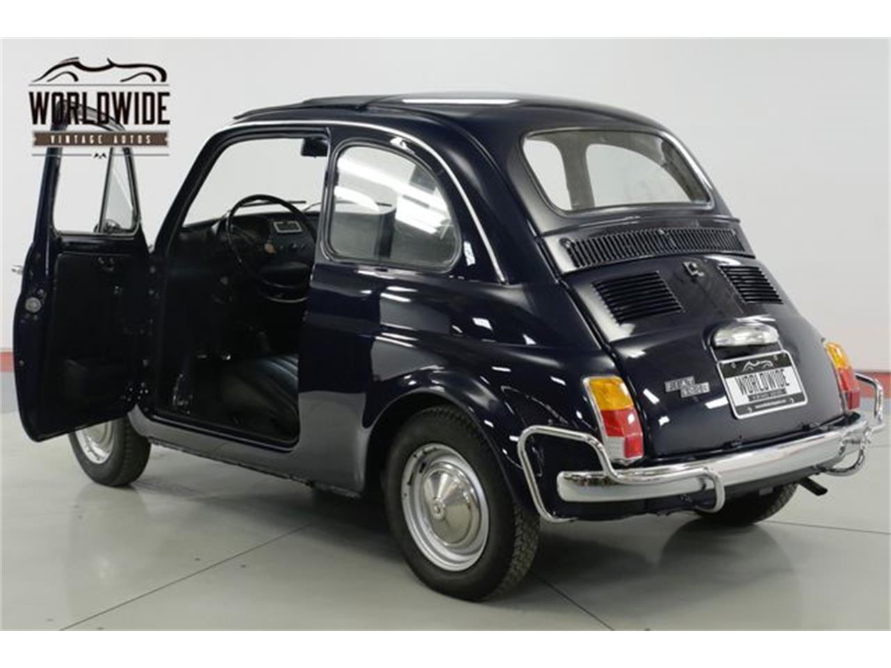 Large Picture of Classic 1971 500L located in Denver  Colorado - $15,900.00 Offered by Worldwide Vintage Autos - Q40U