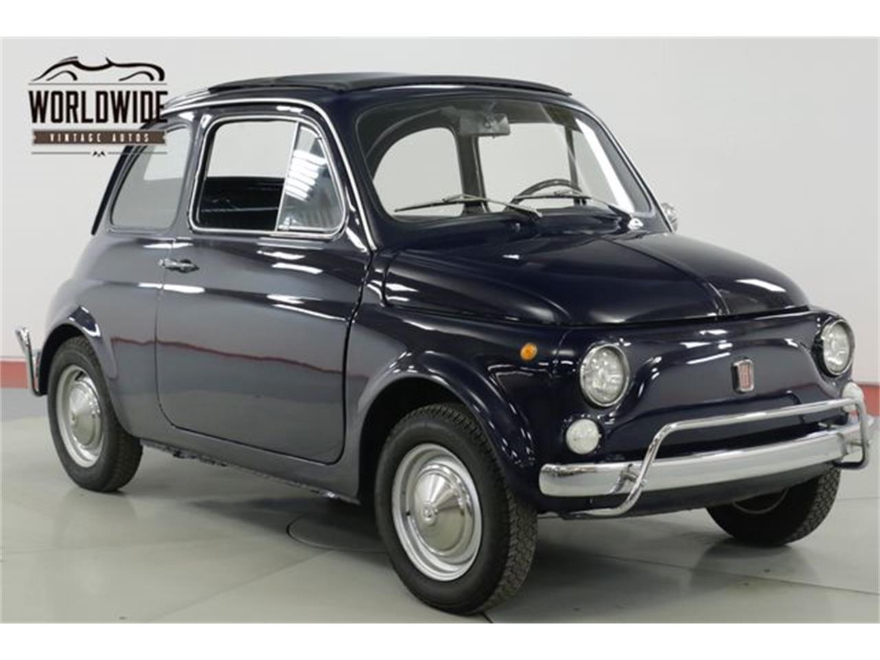 Large Picture of Classic 1971 Fiat 500L located in Denver  Colorado - $15,900.00 - Q40U