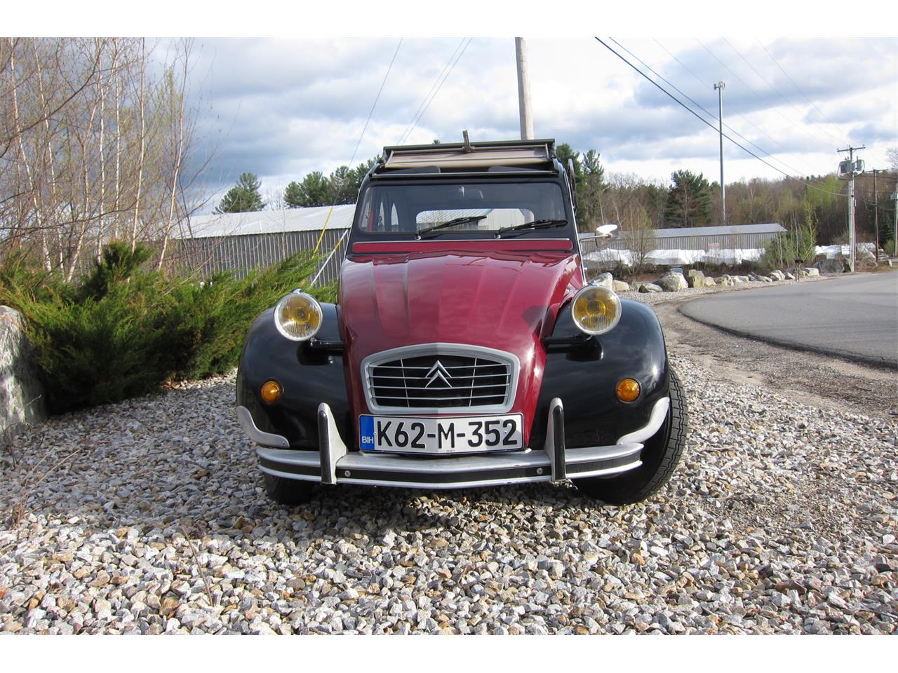 Large Picture of '90 Citroen 2CV located in Hampstead New Hampshire Auction Vehicle - Q42X