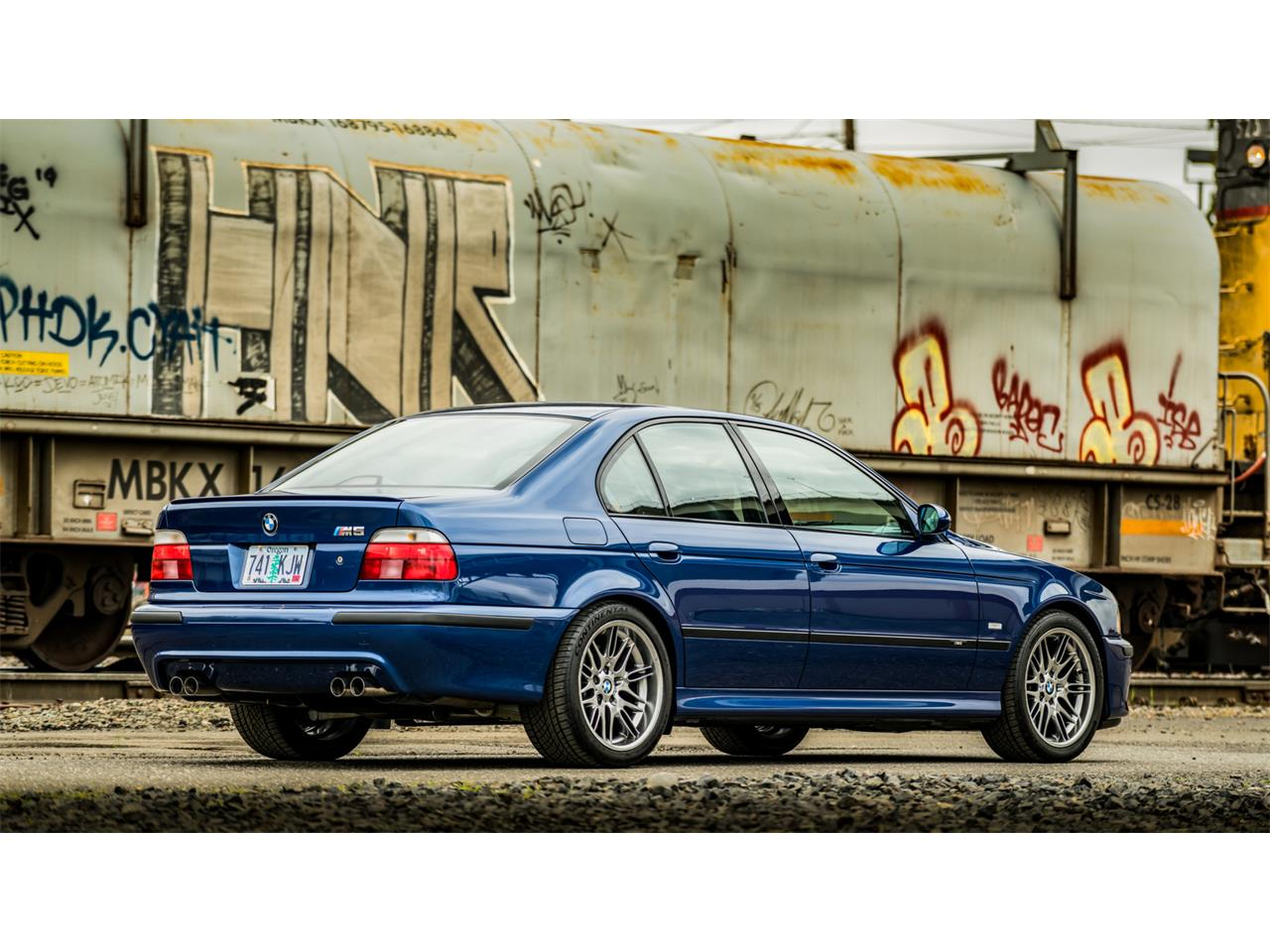 Large Picture of 2000 BMW M5 Auction Vehicle Offered by Bring A Trailer - Q43C