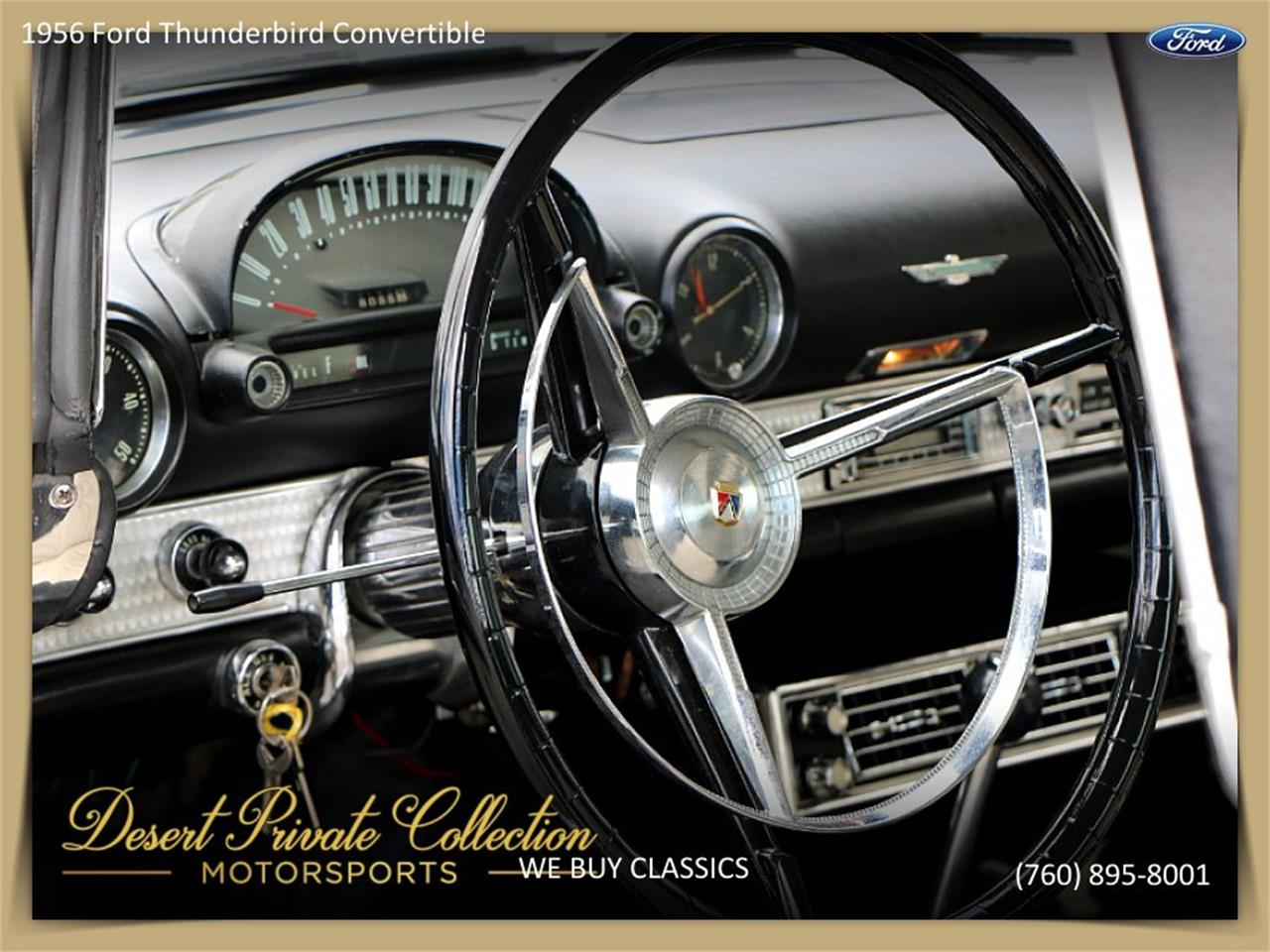 Large Picture of '56 Thunderbird - Q43F