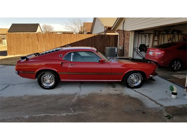 Picture of Classic 1969 Mustang Mach 1 located in Oklahoma - $39,900.00 Offered by a Private Seller - PYAL