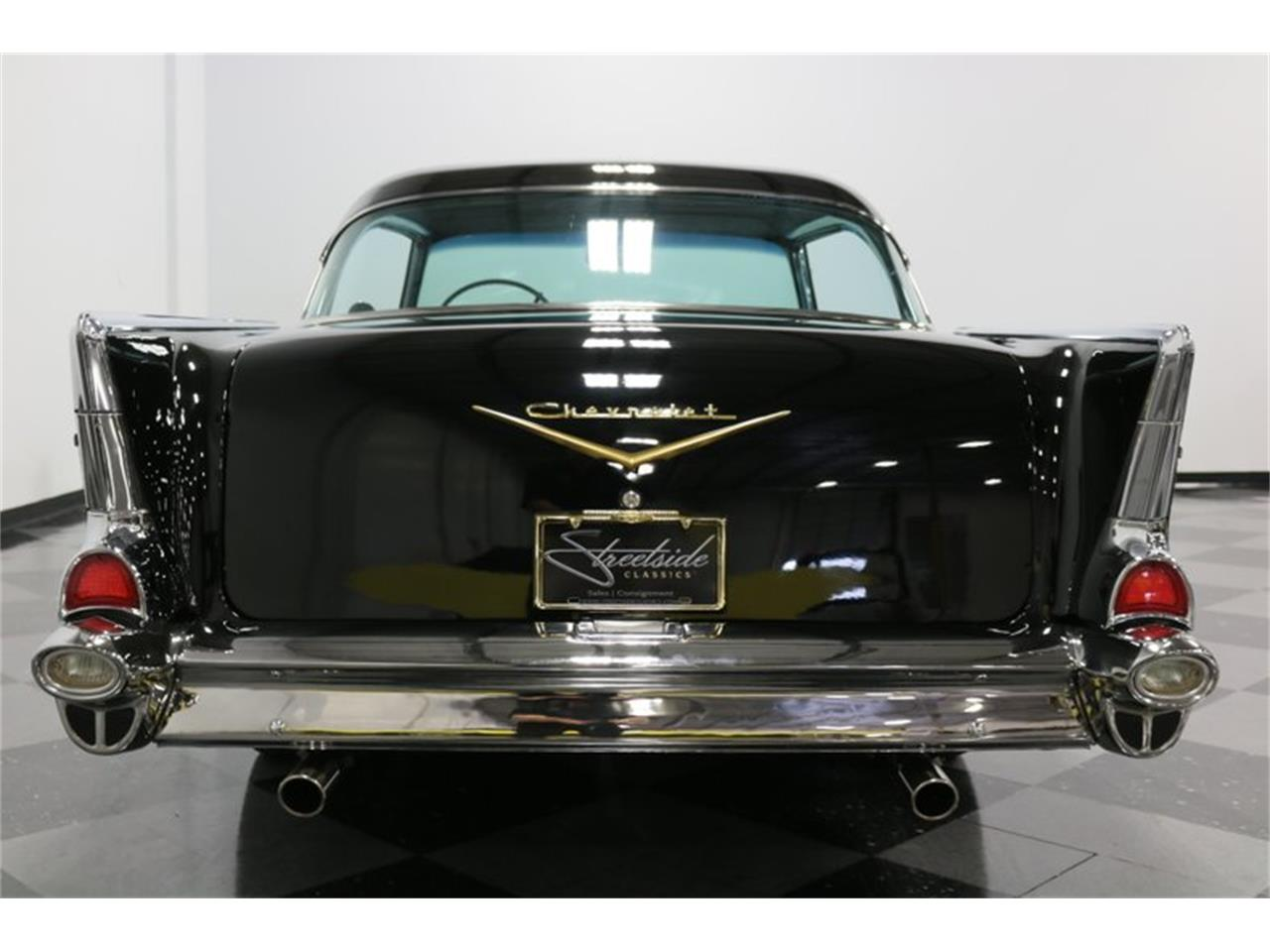 Large Picture of '57 Chevrolet Bel Air located in Ft Worth Texas - $48,995.00 Offered by Streetside Classics - Dallas / Fort Worth - Q46F