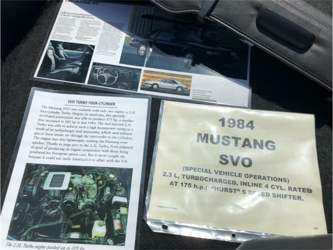 Large Picture of 1984 Ford Mustang - Q46S