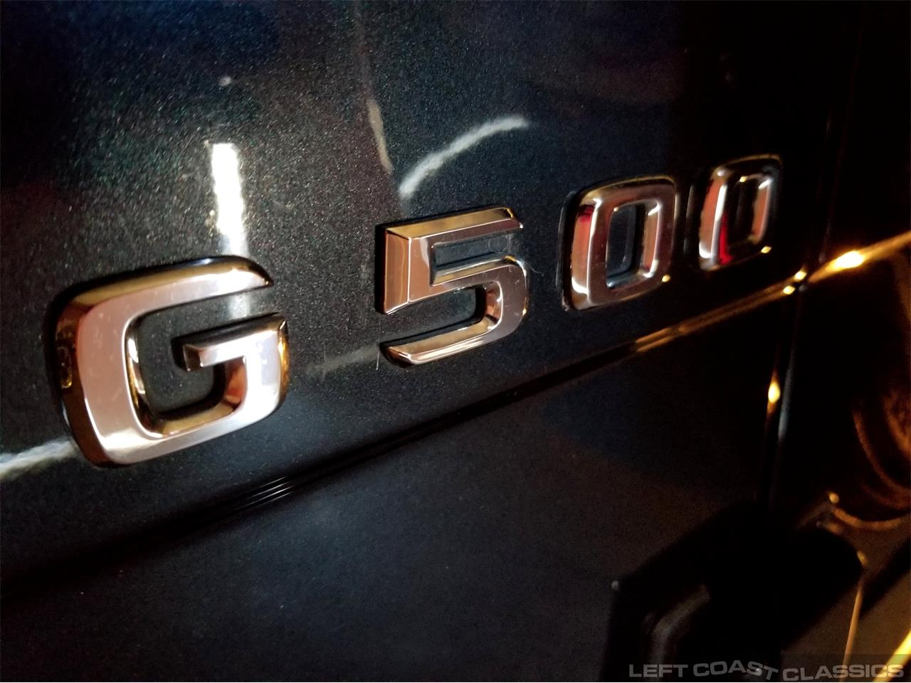 Large Picture of '02 G500 - PYAX