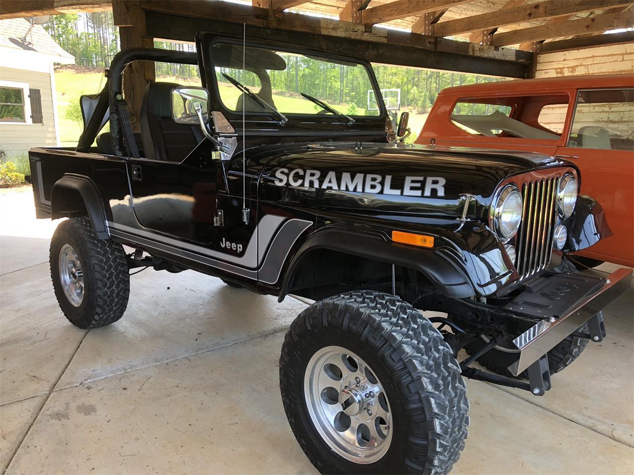 For Sale 1982 Jeep Cj8 Scrambler In Carrollton Georgia