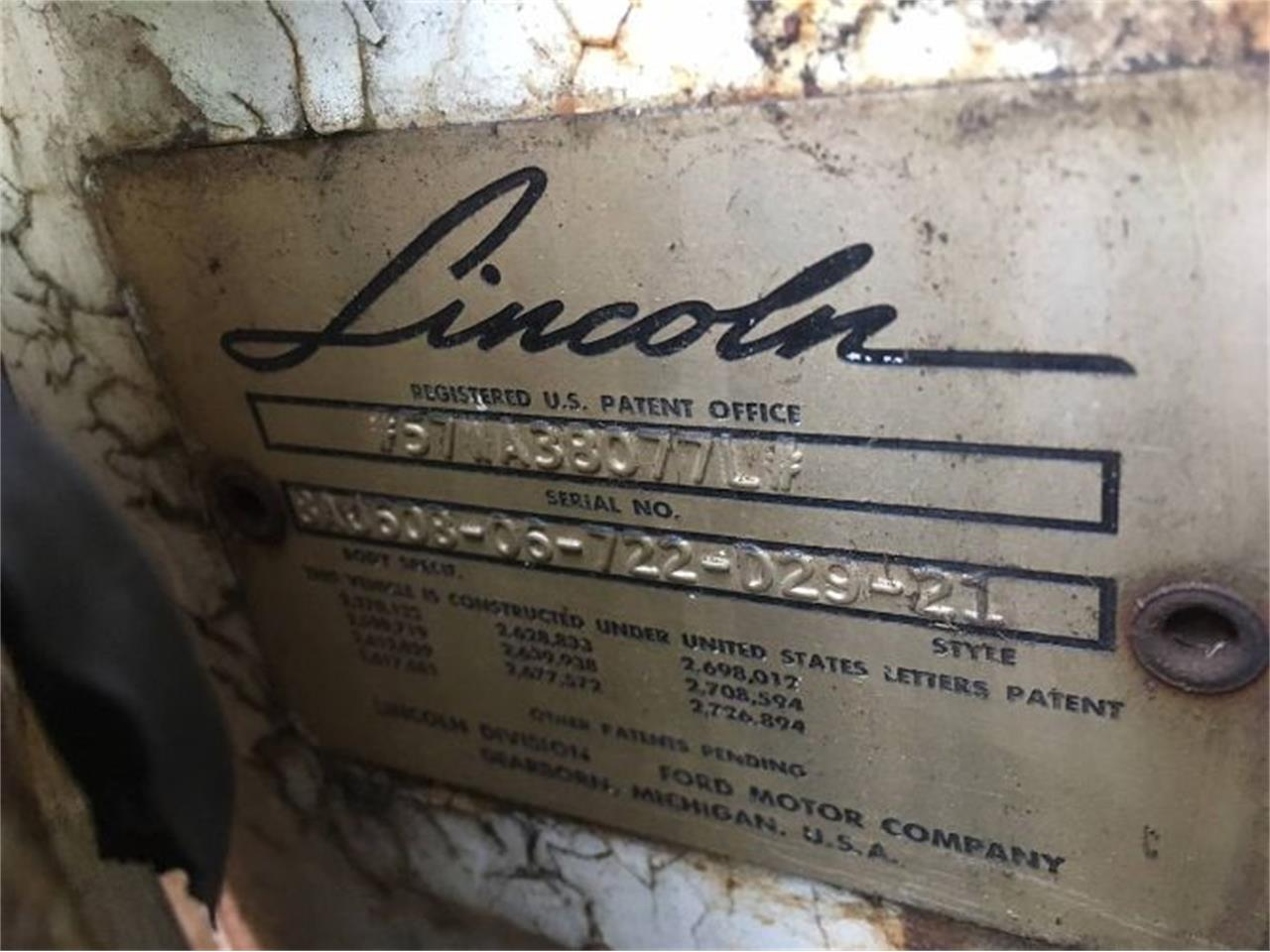 Large Picture of Classic 1957 Lincoln Premiere located in Michigan - $6,495.00 - Q4BN