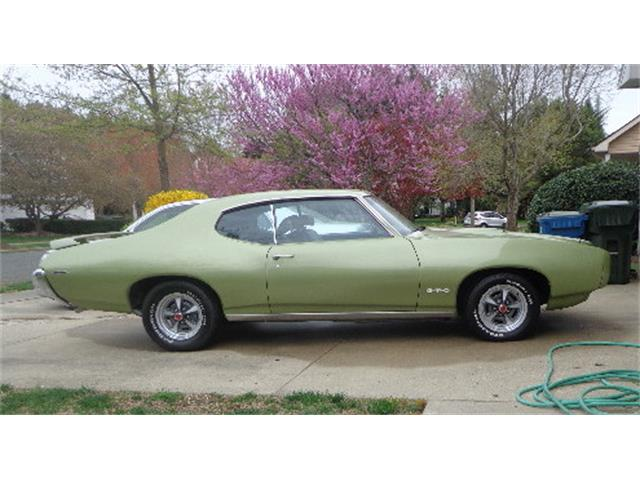 Picture of Classic 1969 Pontiac GTO located in Easton Maryland - PYBA