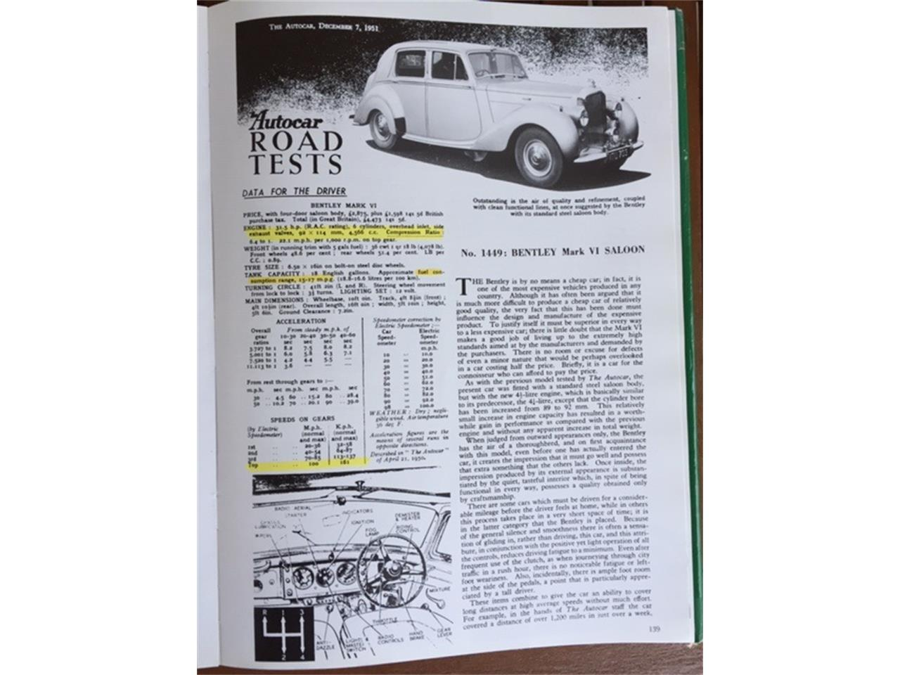 Large Picture of '50 Bentley Mark VI located in Canyon Lake California - Q4FX