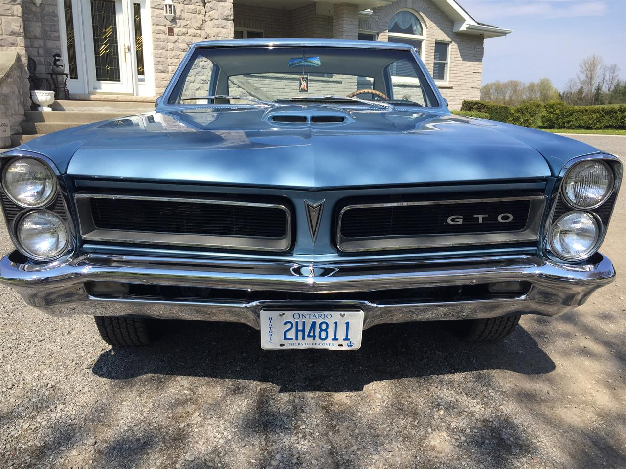 Large Picture of Classic 1965 Pontiac GTO located in Ontario - Q4G6