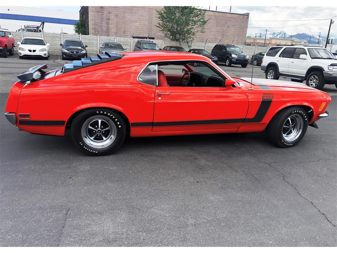 Large Picture of 1970 Mustang located in West Valley City Utah Auction Vehicle - Q4K1