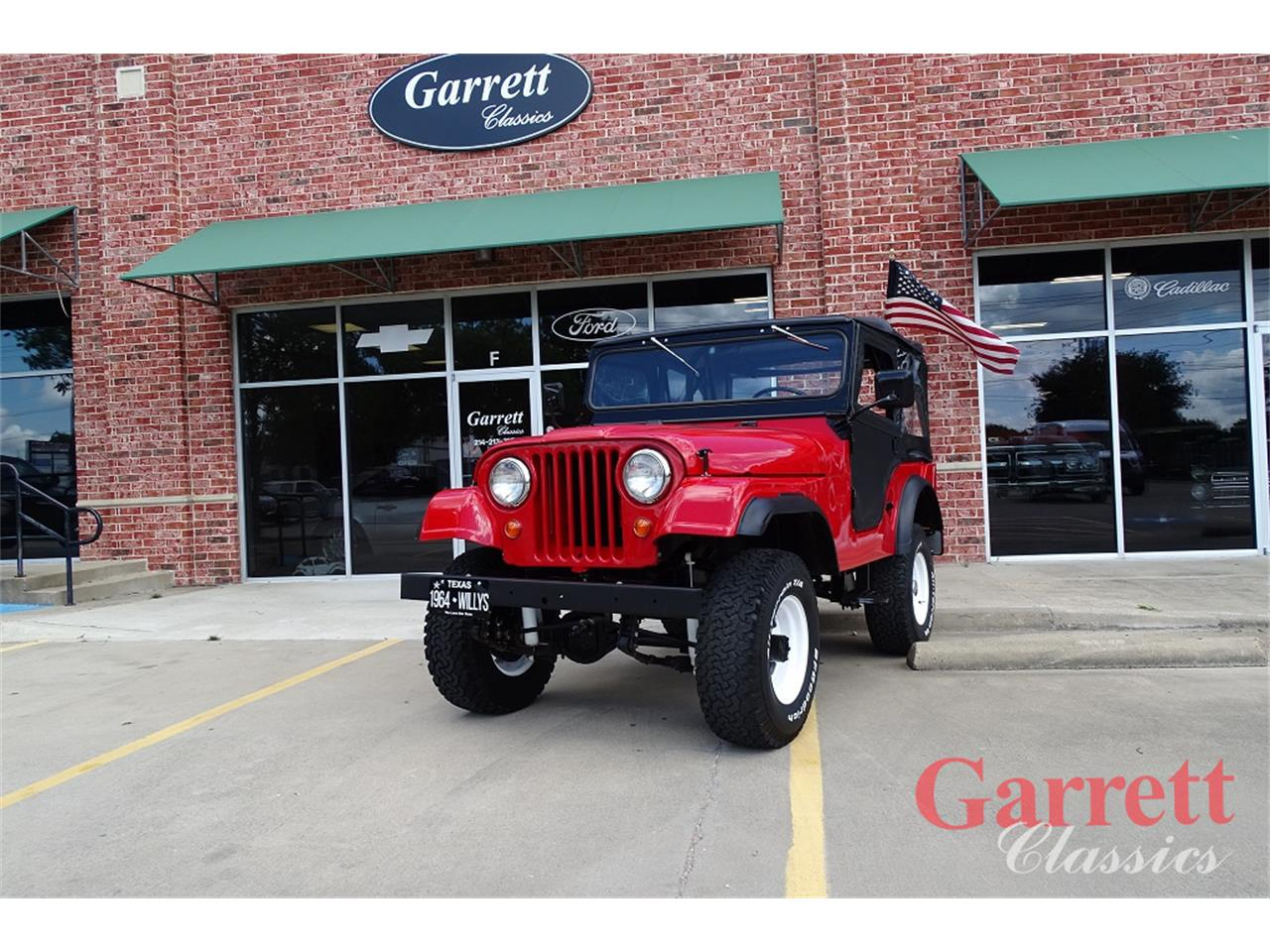 Large Picture of Classic 1964 Willys Jeep Offered by Garrett Classics - Q4KI
