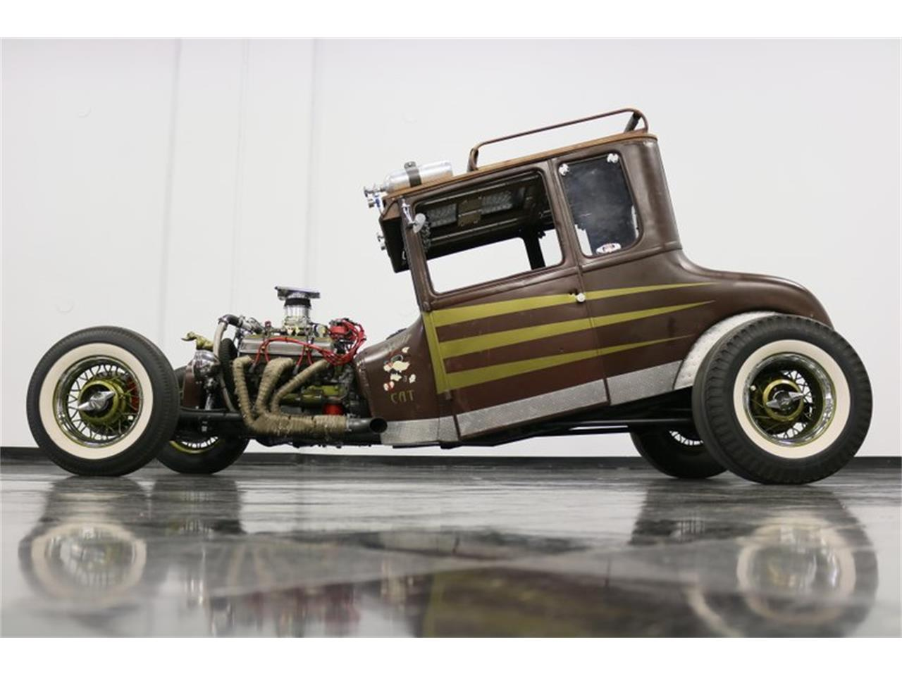 Large Picture of Classic '27 Ford Coupe - $31,995.00 Offered by Streetside Classics - Dallas / Fort Worth - Q4LA