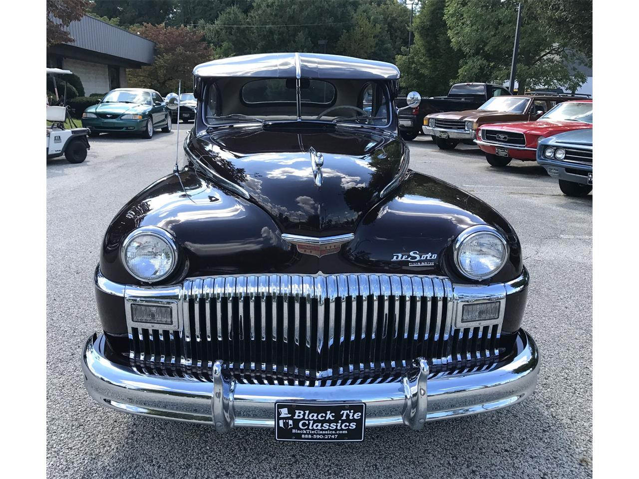 Large Picture of Classic '48 DeSoto Deluxe Offered by Black Tie Classics - Q4MM