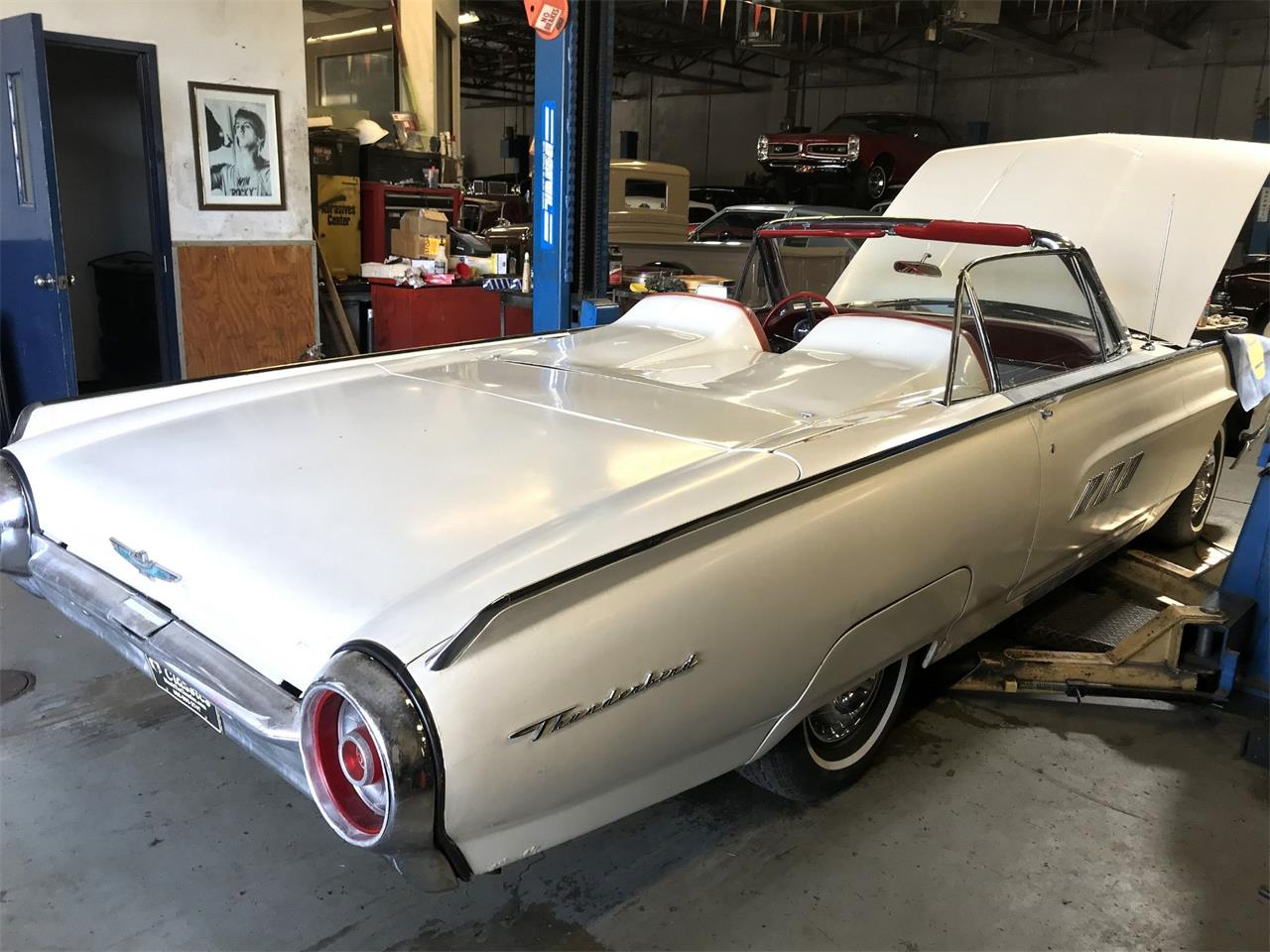 Large Picture of '63 Thunderbird located in New Jersey Offered by Black Tie Classics - Q4MX