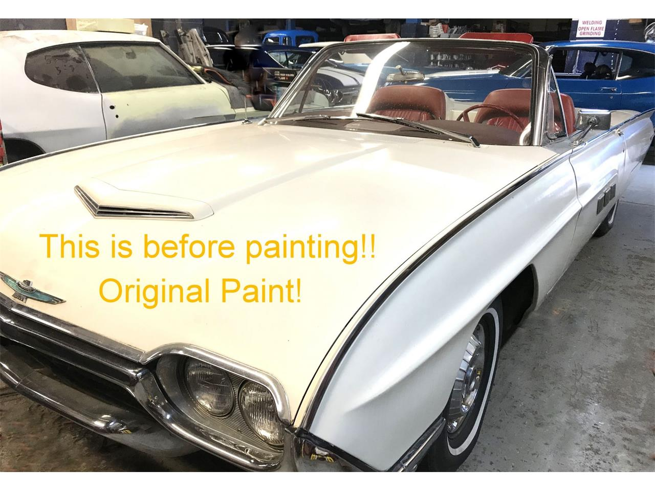Large Picture of Classic 1963 Ford Thunderbird - Q4MX