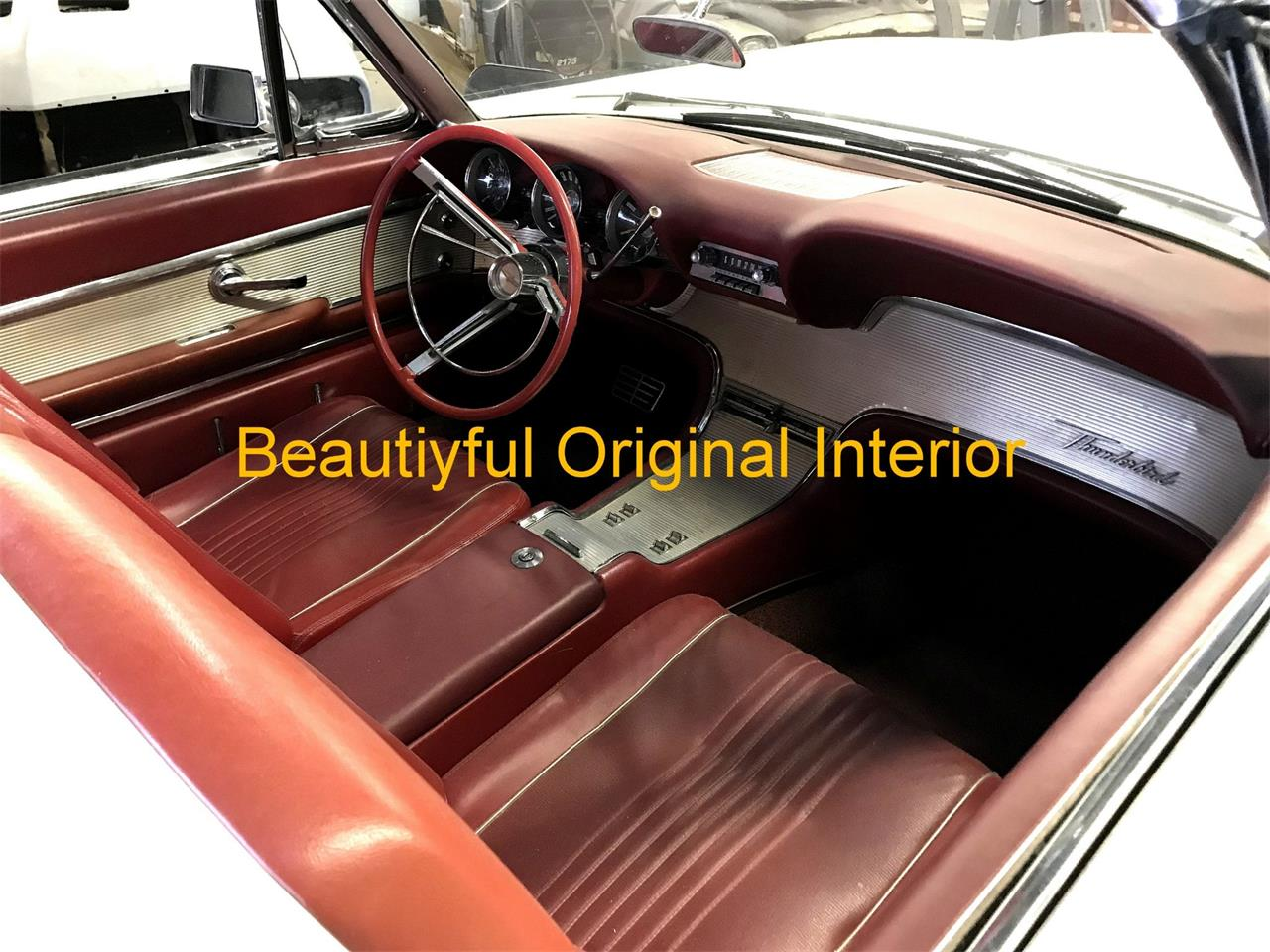 Large Picture of '63 Ford Thunderbird located in New Jersey Offered by Black Tie Classics - Q4MX