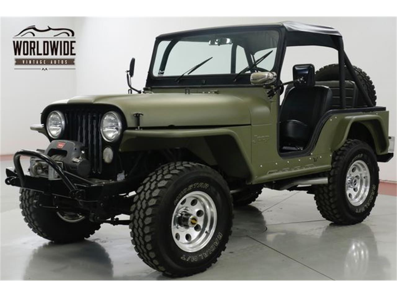 Large Picture of 1973 CJ5 located in Denver  Colorado Offered by Worldwide Vintage Autos - Q4O6