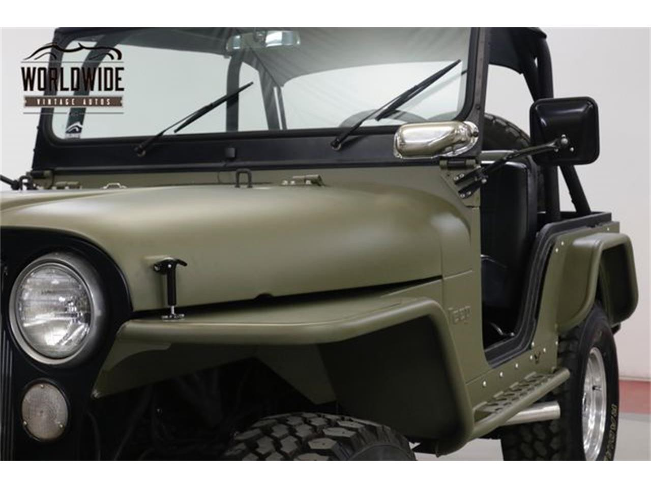 Large Picture of '73 Jeep CJ5 located in Denver  Colorado Offered by Worldwide Vintage Autos - Q4O6