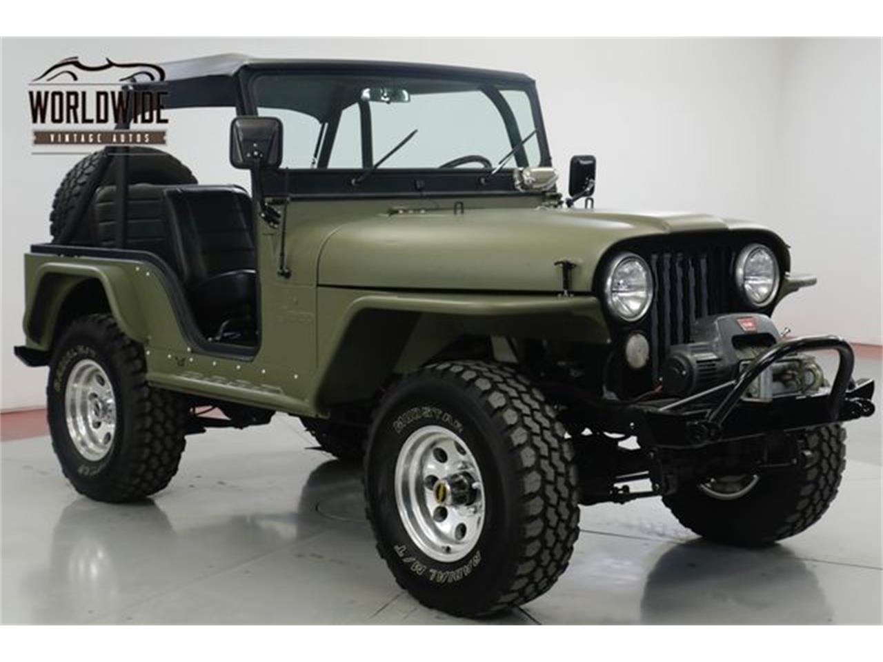 Large Picture of Classic 1973 CJ5 located in Denver  Colorado - $18,900.00 - Q4O6