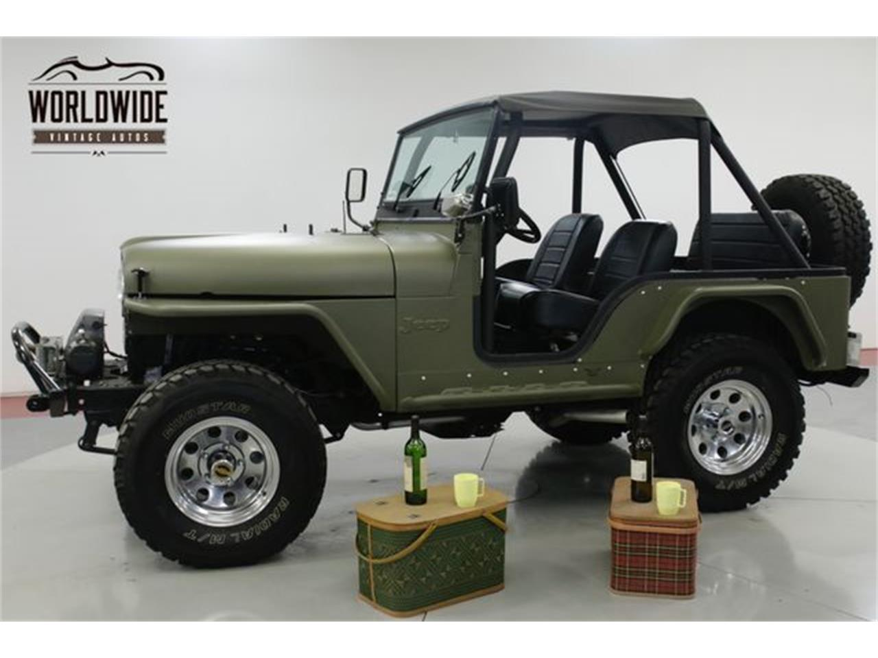 Large Picture of Classic '73 Jeep CJ5 - $18,900.00 Offered by Worldwide Vintage Autos - Q4O6