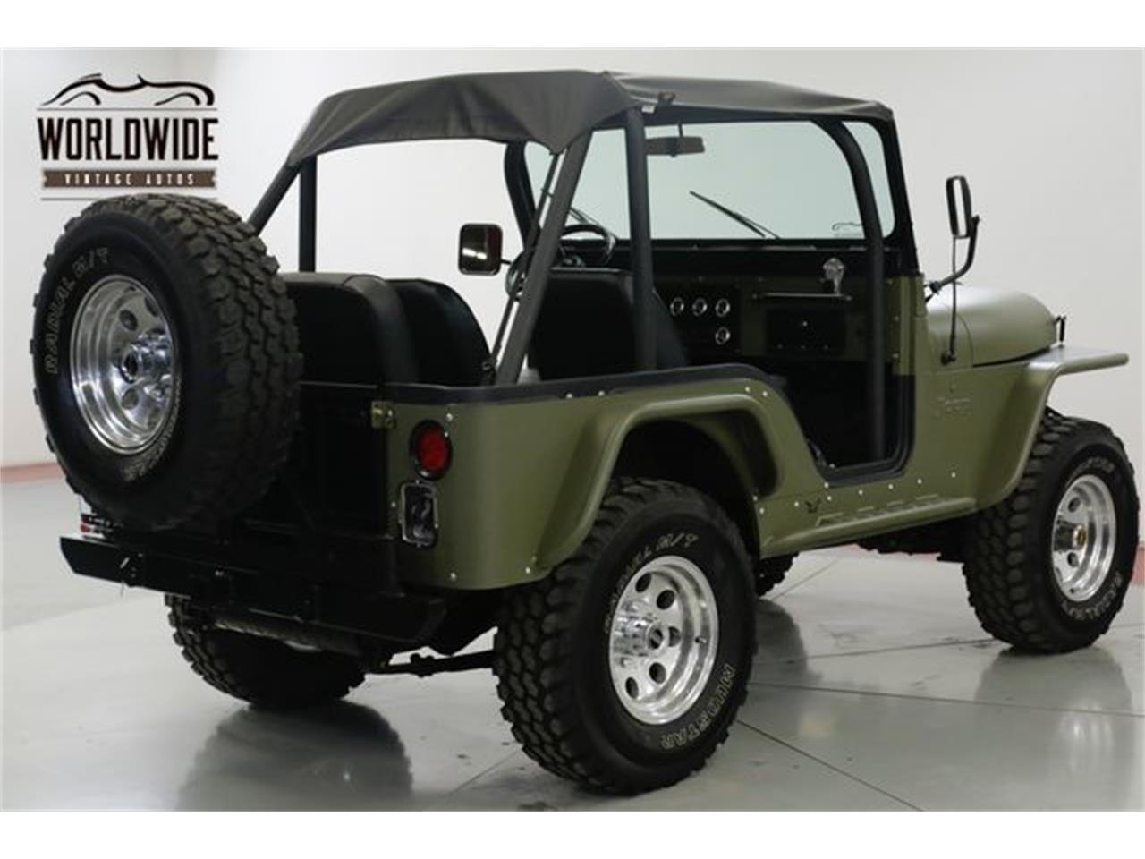 Large Picture of Classic 1973 Jeep CJ5 located in Denver  Colorado Offered by Worldwide Vintage Autos - Q4O6