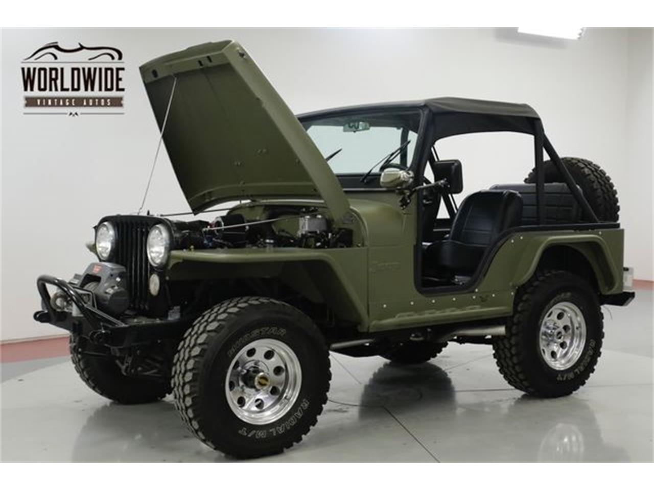 Large Picture of 1973 Jeep CJ5 located in Denver  Colorado - $18,900.00 Offered by Worldwide Vintage Autos - Q4O6