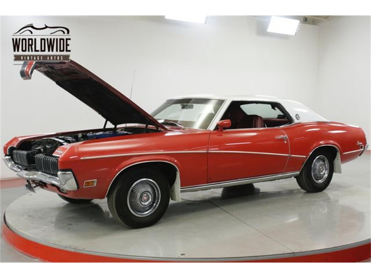 Large Picture of 1970 Mercury Cougar XR7 - $14,900.00 Offered by Worldwide Vintage Autos - Q4OB