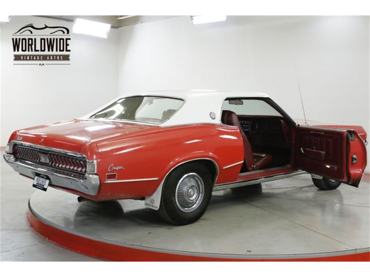 Large Picture of 1970 Mercury Cougar XR7 located in Colorado Offered by Worldwide Vintage Autos - Q4OB