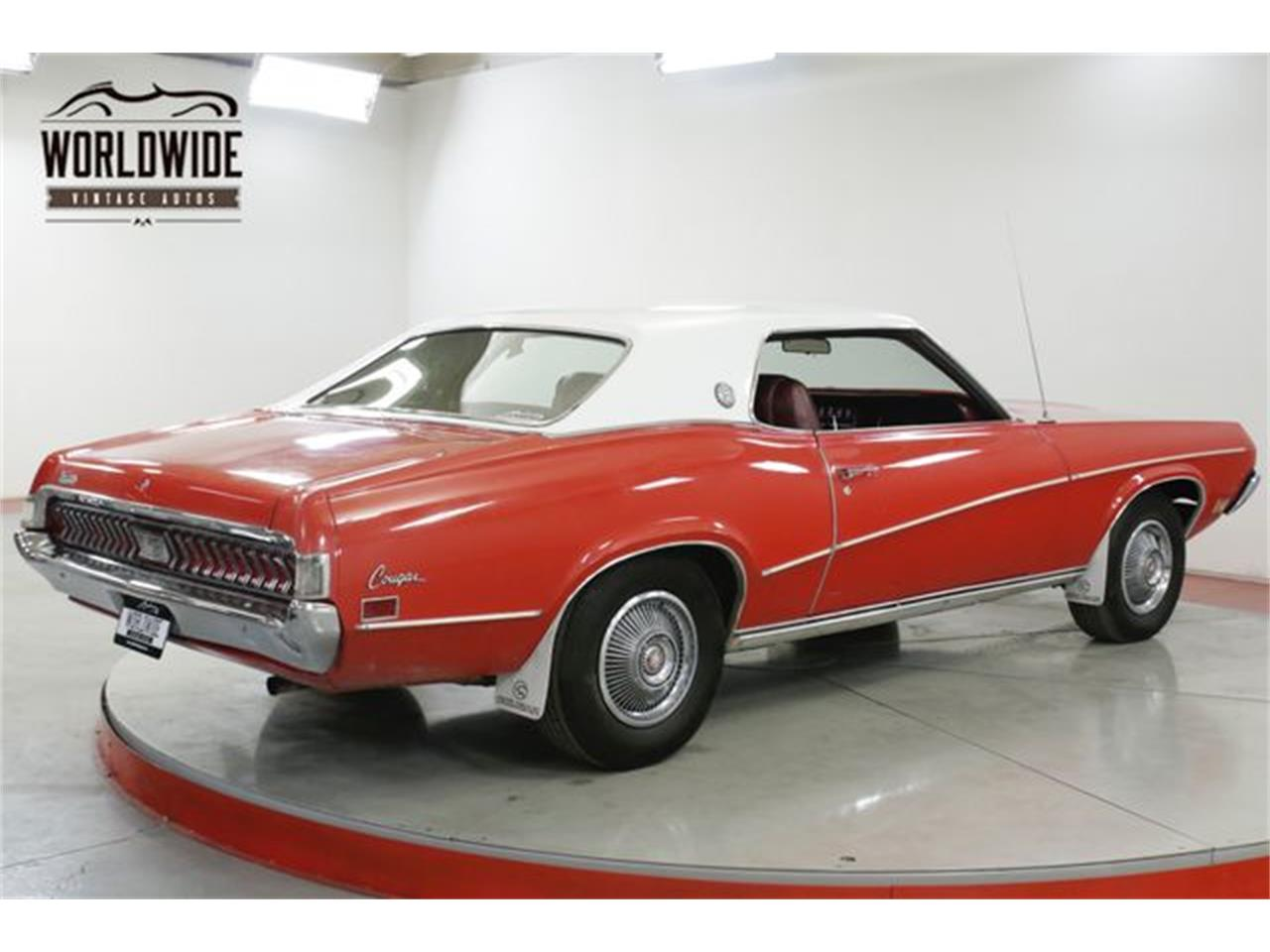 Large Picture of Classic 1970 Mercury Cougar XR7 located in Denver  Colorado - $14,900.00 Offered by Worldwide Vintage Autos - Q4OB