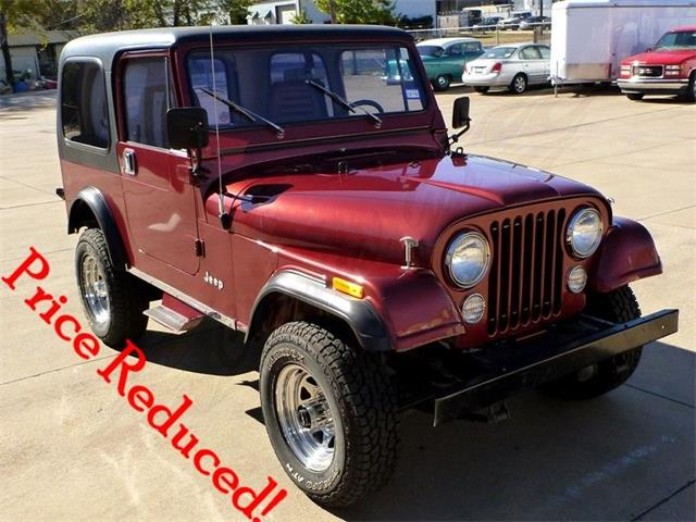 Picture of 1985 Jeep CJ7 located in Arlington Texas - $27,500.00 Offered by  - Q4PF