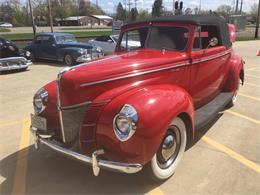 Picture of Classic '40 Ford Deluxe located in Annandale Minnesota - $43,500.00 - Q4PG