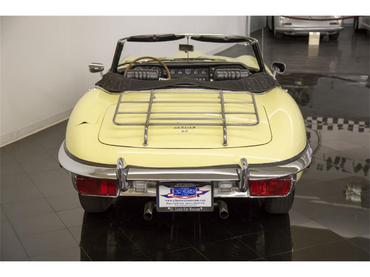 Large Picture of Classic 1969 E-Type located in St. Louis Missouri Offered by St. Louis Car Museum - Q4Q1