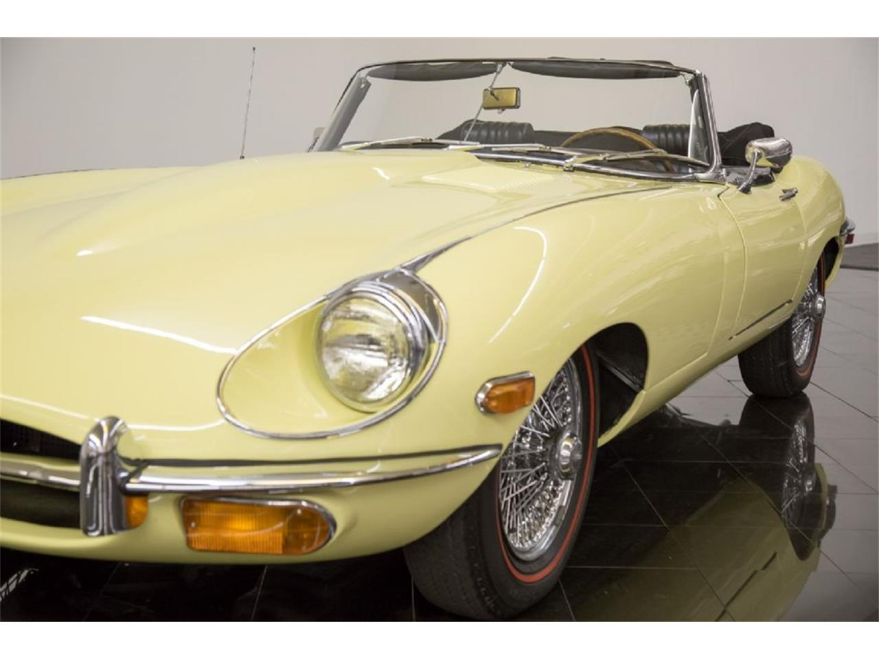 Large Picture of Classic '69 Jaguar E-Type Offered by St. Louis Car Museum - Q4Q1