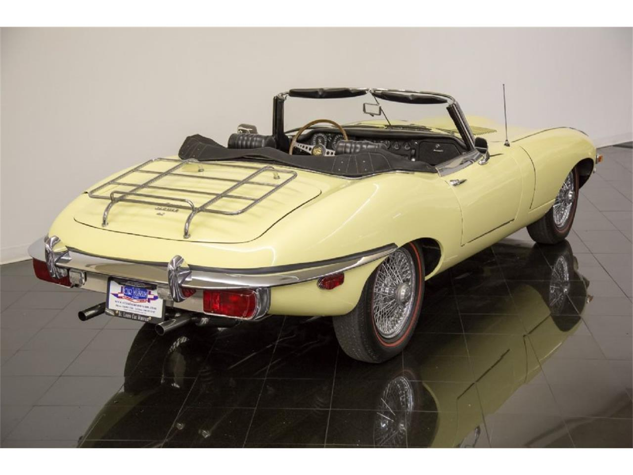 Large Picture of '69 Jaguar E-Type located in Missouri Offered by St. Louis Car Museum - Q4Q1