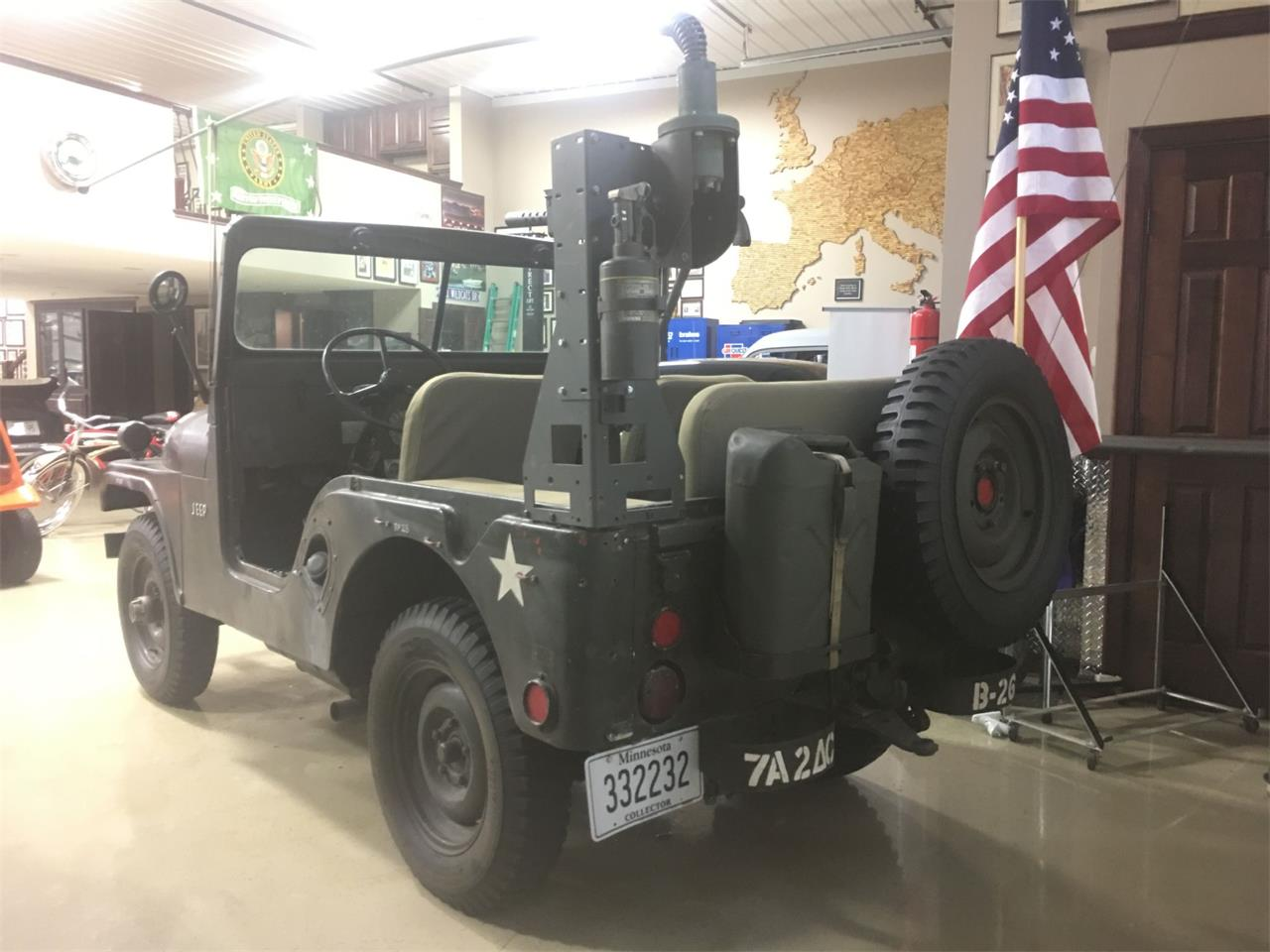 Large Picture of Classic '55 Jeep CJ5 Auction Vehicle Offered by Classic Rides and Rods - Q4Q6