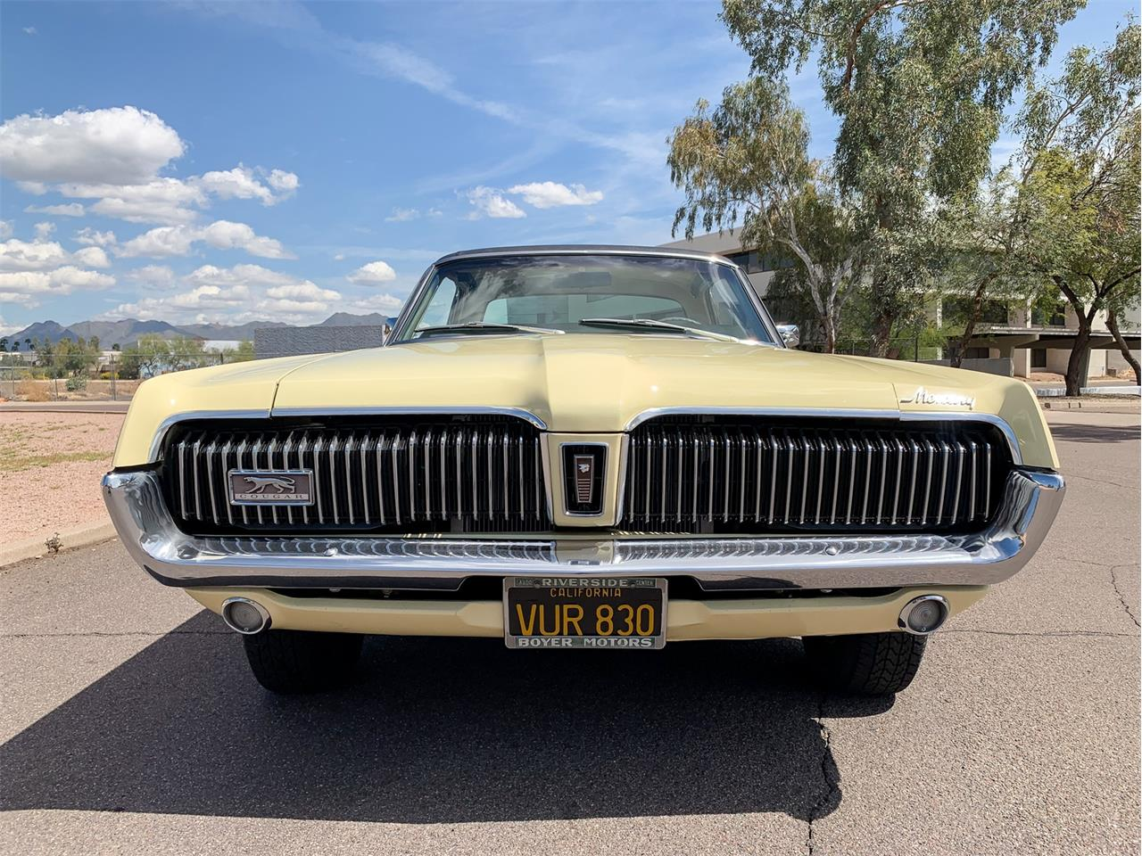 Large Picture of 1968 Mercury Cougar located in Scottsdale Arizona Auction Vehicle Offered by Bring A Trailer - Q4QV