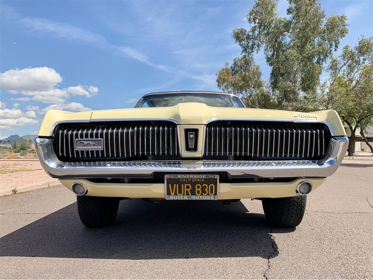 Large Picture of Classic '68 Mercury Cougar located in Scottsdale Arizona Auction Vehicle - Q4QV