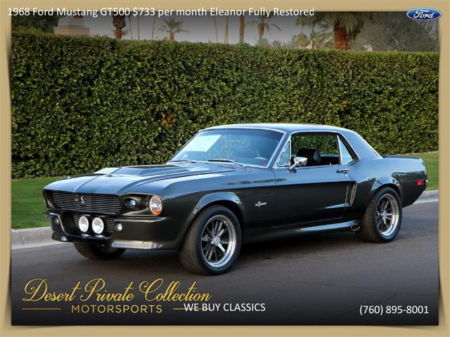 Picture of '68 Mustang Shelby GT500 - Q4S9