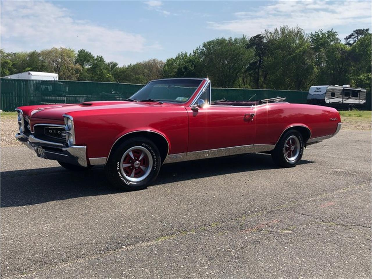 Large Picture of Classic '67 GTO Offered by Hollywood Motors - Q4SB