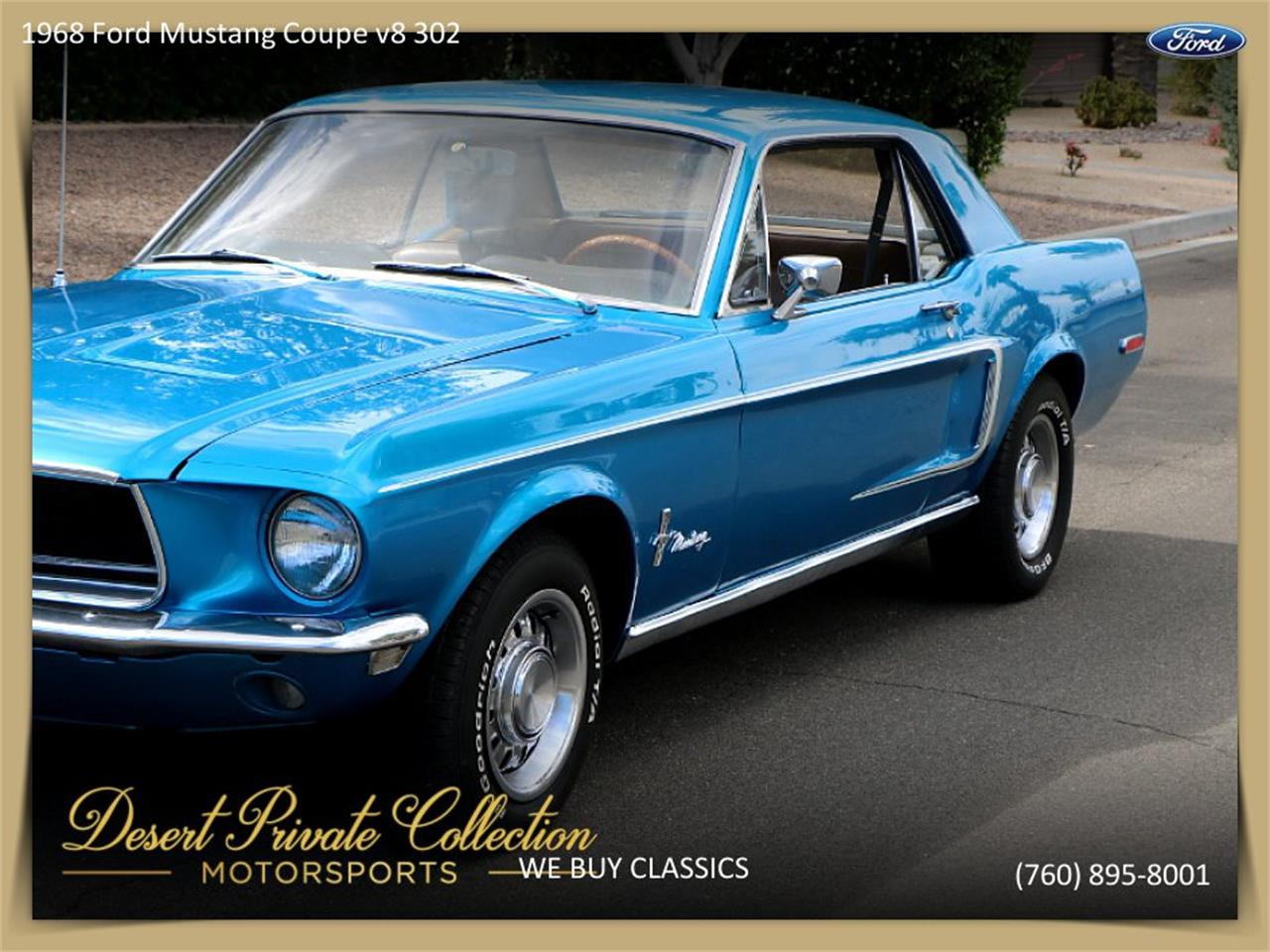 Large Picture of '68 Mustang - Q4SH