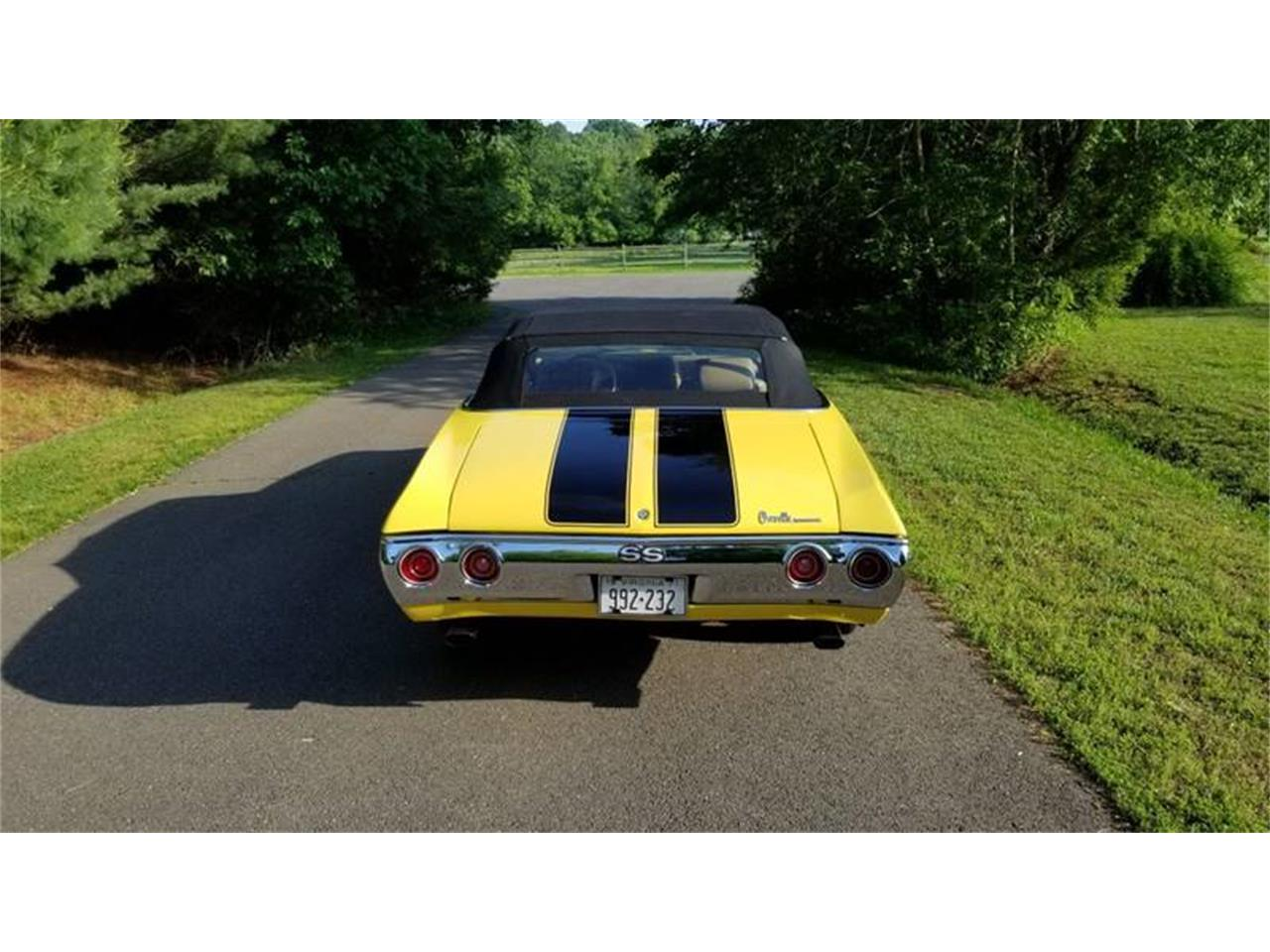 Large Picture of Classic 1971 Chevelle located in Maryland Offered by Eric's Muscle Cars - Q4TT