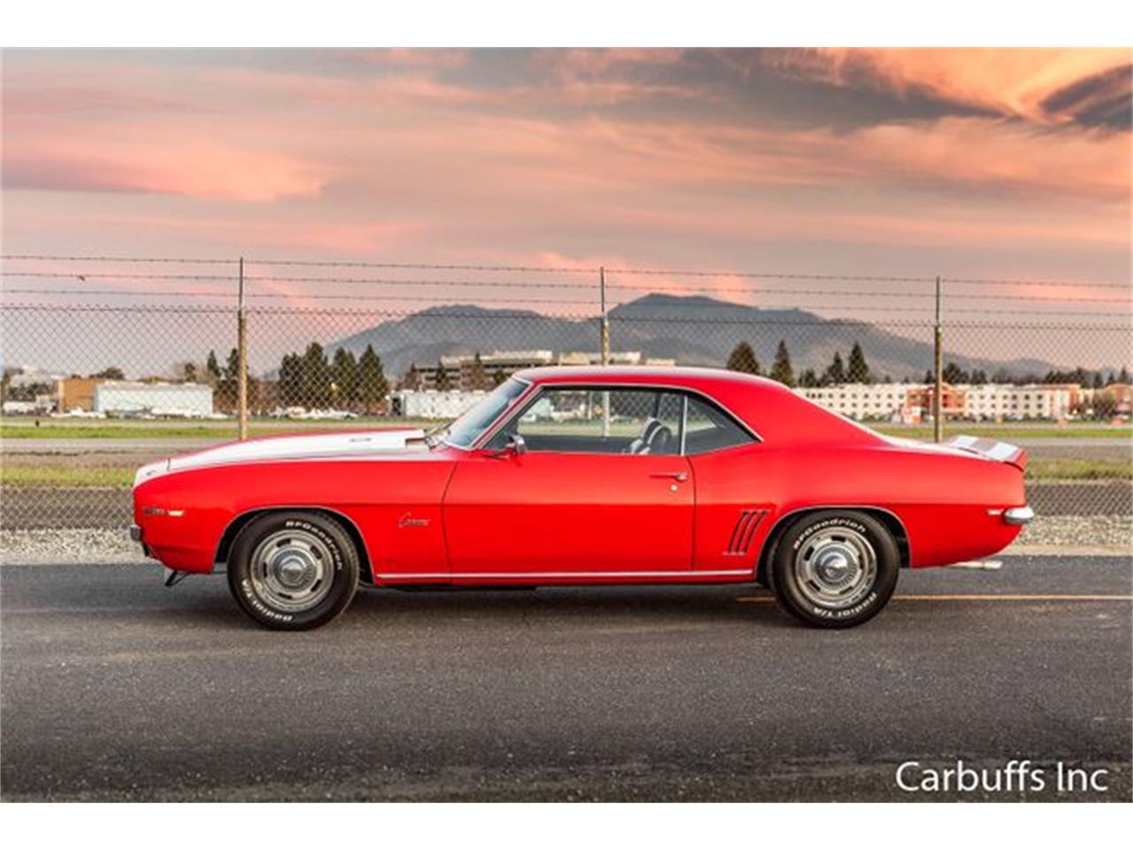 Large Picture of Classic 1969 Camaro located in Concord California Offered by Carbuffs - Q4US
