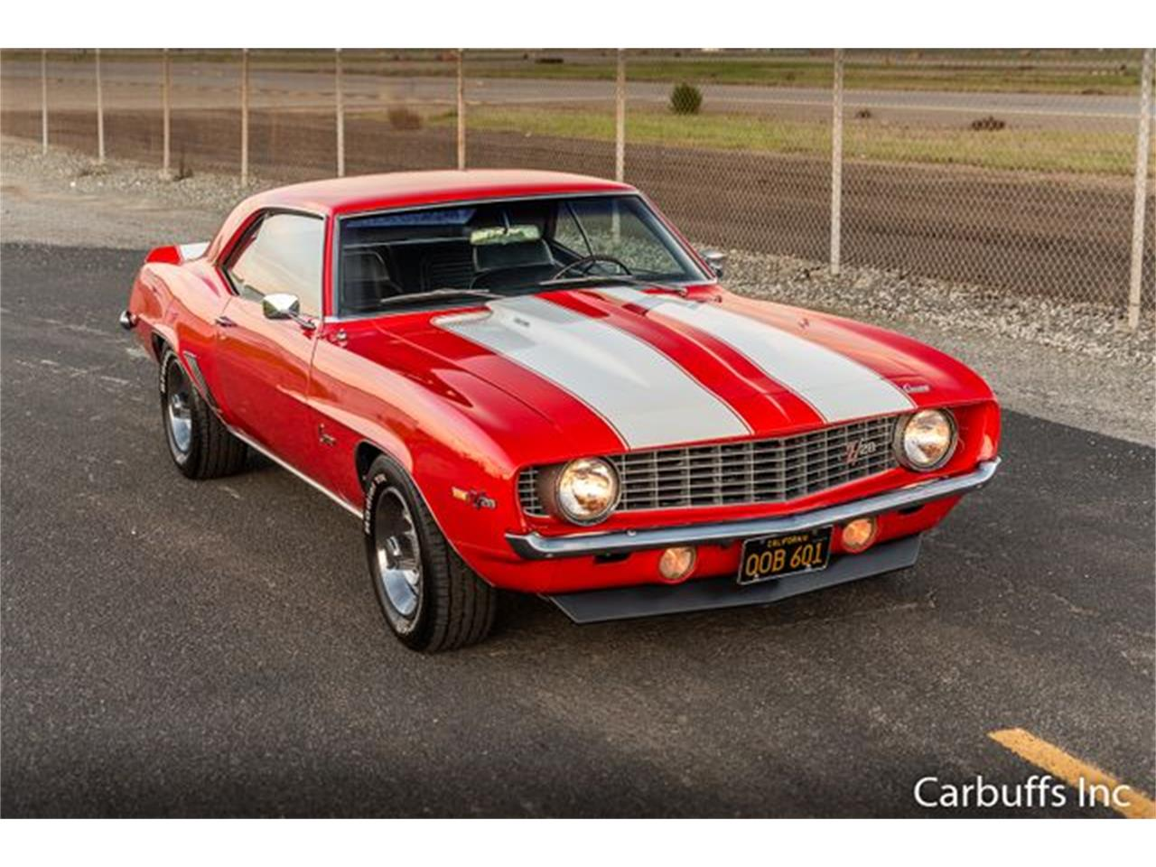Large Picture of '69 Camaro located in Concord California Offered by Carbuffs - Q4US